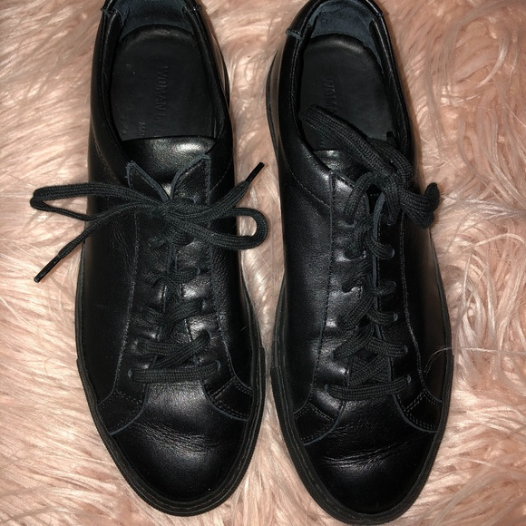 Common Projects Black Original Achilles Sneakers